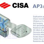 PARTICOLARE CILINDRO CISA AP3 S